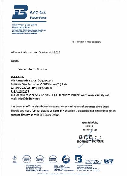 BFE Distributor